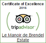 Trip Advisor Certifate of Excellence